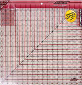 """16-1/2""""X16-1/2"""" - The Cutting EDGE Frosted Ruler"""