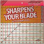 "12-1/2""X12-1/2"" - The Cutting EDGE Clear Ruler"