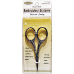 """Gold Round Handle - Heirloom Embroidery Scissors 4"""""""