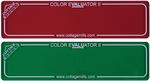 Red & Green Filter - Color Evaluator II