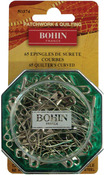 Size 2 65/Pkg - Curved Safety Pins