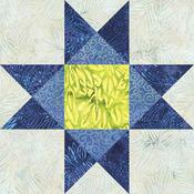 "Ohio Star 12"" - GO! Fabric Cutting Dies"