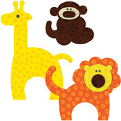 Zoo Animals - GO! This & That Fabric Cutting Dies
