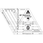 60 Degree Diamond & Triangle - One-Derful One-Patch Template