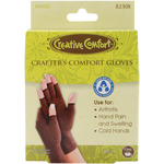 Small - Creative Comfort Crafter's Comfort Gloves 1 Pair