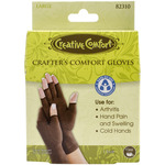 Large - Creative Comfort Crafter's Comfort Gloves 1 Pair