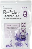 "Set A - 3"" Basic Square Set 7/Pkg - Perfect Patchwork Template"