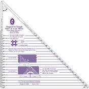 "6"" To 16"" Blocks - Large Diagonal Set Triangle Ruler"