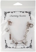 Sewing - Charming Accents Charm Bracelet 7.5""