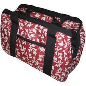 JanetBasket Eco Bag, Red Floral