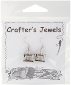 Sewing Machine - Charming Accents French Wire Earrings