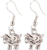 Sheep - Charming Accents French Wire Earrings