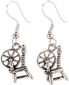 Spinning Wheel - Charming Accents French Wire Earrings