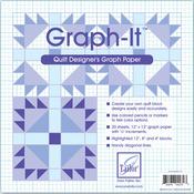 """12""""X12"""" 20/Pkg - Graph-It Graph Paper"""