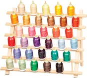 Holds 33 Cones - Cone Thread Rack