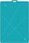 "26""X39"" W/23""X35"" Grid - Gridded Rotary Mat W/Handle"