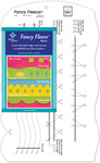 "9-1/2""X16"" - Fancy Fleece Slotted Ruler"
