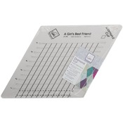 "9""X9"" - Diamond Cut Slotted Ruler"