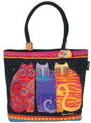 "Feline Friends - Shoulder Zipper Top 19""X5""X15"""