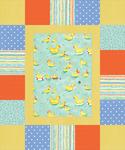 Neutral - Ducks Assorted - Cuddly Quilt Kits
