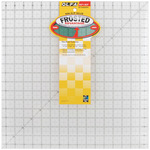 """16-1/2""""X16-1/2"""" - OLFA Frosted Advantage Non-Slip Ruler """"The Workhorse"""""""
