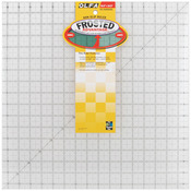 "16-1/2""X16-1/2"" - OLFA Frosted Advantage Non-Slip Ruler ""The Workhorse"""