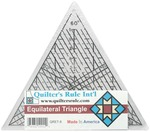 """7-3/4"""" - Quilter's Equilateral Triangle Ruler"""