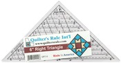 "6-3/4""X9-1/2"" - Quilter's Mini Triangle Ruler"