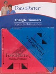 "1/2"" & 1/4"" 2/Pkg - Fons & Porter Triangle Trimmers"