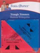 "1/2"" & 1/4"" 2/Pkg - Fons & Porter Triangle Trimmers"