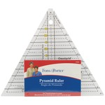 """1"""" To 6"""" - Fons & Porter Pyramid Ruler"""