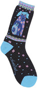 Dogs & Doggies - Black - Laurel Burch Socks