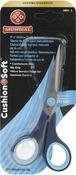 "Serrated Bottom Blade - Cushion Soft Hobby & Craft Scissors 5.5"""