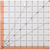"8-1/2""X8-1/2"" - Fiskars Quilting Ruler"