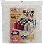 "12.5""X12.5""X6"" Translucent - ArtBin Super Satchel Thread Tray"
