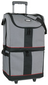 "17.5""X13""X30.5"" Black, Gray & Red - ArtBin Tote Express"