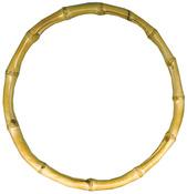 """Natural - Bamboo Bag Handle 7"""" Round"""