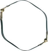Gold & Silver - Internal Flex Purse Frame 9""