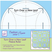 """8"""" Round - Turn Over A New Leaf Ruler"""