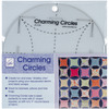 Charming Circles Ruler June Tailor-Charming Circles Ruler. Create fun and easy shabby chic projects using your repurposed denim and fabric scraps. Great for blankets, pillows and tote bags. Works great with 5 inch charm squares or any 5 inch square block of fabric. For quick construction, use with June Tailor's Quilt basting spray (sold separately). This package contains one 7 inch round charming circles ruler. Made in USA.