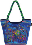 "Canine Family - Scoop Tote Zipper Top 19""X5""X14"""