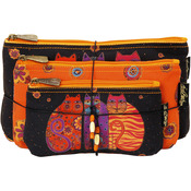 Feline Friends - Cosmetic Bag Set 3/Pkg
