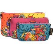 Feline Clan - Cosmetic Bag Set 3/Pkg