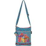 "Feline Clan - Long Satchel 10.5""X12.5"""