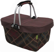 Brown - JanetBasket Large Basket Cover