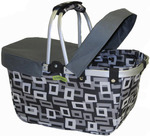 Gray - JanetBasket Large Basket Cover