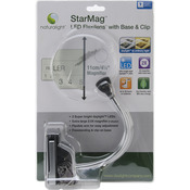 Silver & Black - Naturalight StarMag LED Flexilens W/Base & Clip