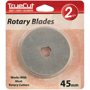 45mm 2/Pkg - TrueCut Rotary Blade Refills