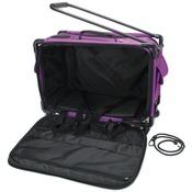 """23""""X15""""X12"""" Purple - TUTTO Machine On Wheels Case"""