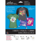 "Jolee's Easy Image Transfer Sheets 8.5""X11"" 3/Pkg - Glow - In - The - Dark For D"